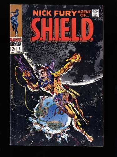 Nick Fury, Agent of SHIELD #6 FN- 5.5