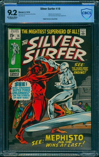 Silver Surfer #16 CBCS NM- 9.2 Off White to White