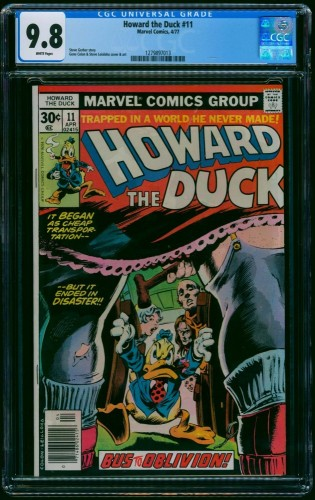 Howard the Duck #11 CGC NM/M 9.8 White Pages