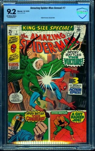 Amazing Spider-Man Annual #7 CBCS NM- 9.2 Off White to White