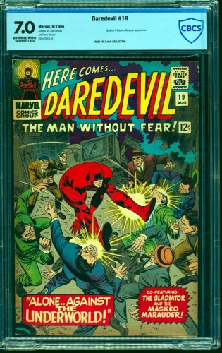 Daredevil #19 CBCS FN/VF 7.0 Off White to White Marvel Comics