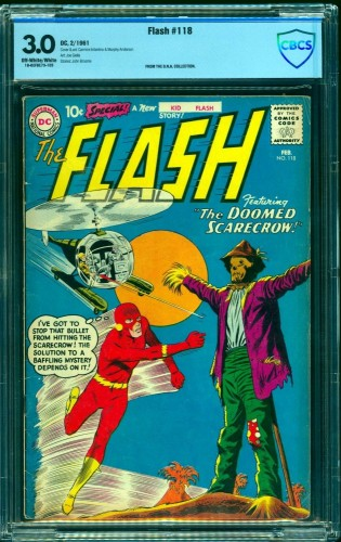 Flash #118 CBCS GD/VG 3.0 Off White to White DC Comics