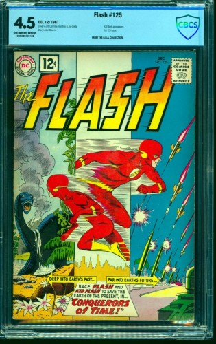 Flash #125 CBCS VG+ 4.5 Off White to White DC Comics