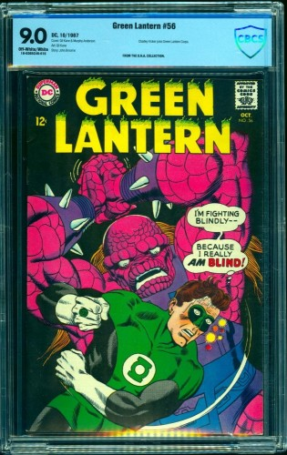Green Lantern #56 CBCS VF/NM 9.0 Off White to White DC Comics
