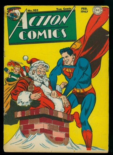 Cover Scan: Action Comics #105 GD+ 2.5 DC Superman