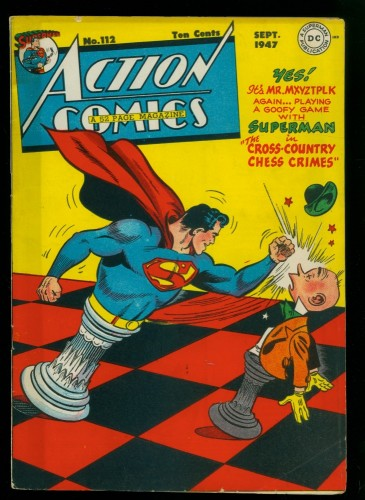 Cover Scan: Action Comics #112 VG/FN 5.0 DC Superman