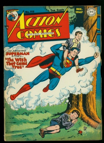Cover Scan: Action Comics #115 FN- 5.5