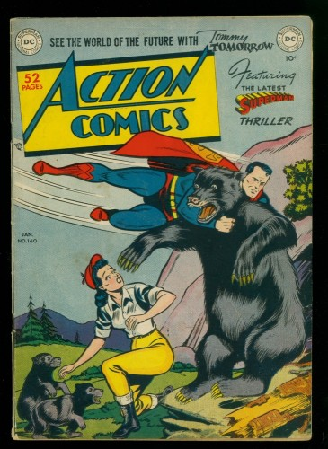 Cover Scan: Action Comics #140 VG/FN 5.0