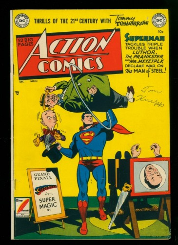 Cover Scan: Action Comics #151 FN+ 6.5 DC Superman