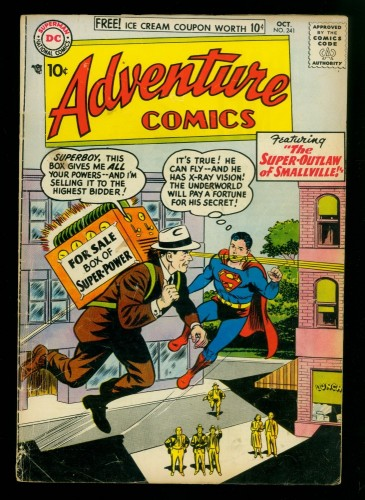 Adventure Comics #241 GD/VG 3.0 DC Superman