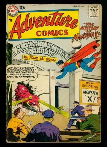 Adventure Comics #245 GD/VG 3.0 DC Superman