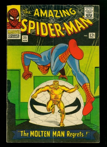 Amazing Spider-Man #35 VG 4.0 Marvel Comics Spiderman
