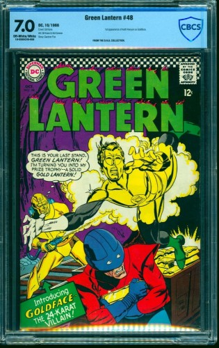 Green Lantern #48 CBCS FN/VF 7.0 Off White to White DC Comics