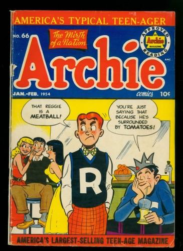 Archie Comics #66 VG 4.0