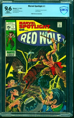 Marvel Spotlight #1 CBCS NM+ 9.6 White Pages Comics