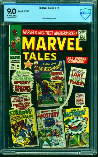 Marvel Tales #10 CBCS VF/NM 9.0 Off White to White