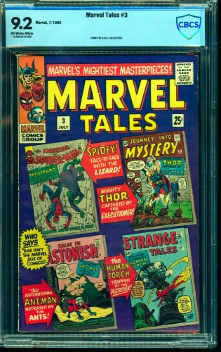 Marvel Tales #3 CBCS NM- 9.2 Off White to White