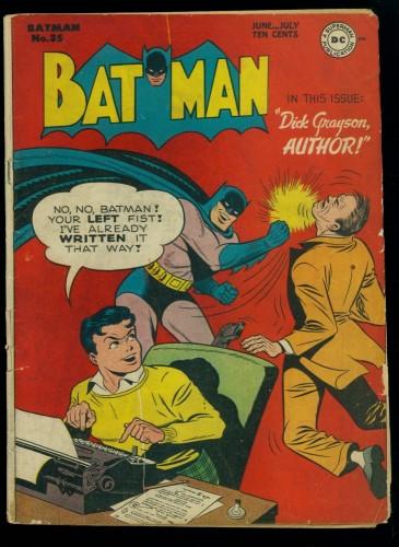 Batman #35 VG 4.0
