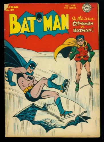 Batman #39 VG- 3.5