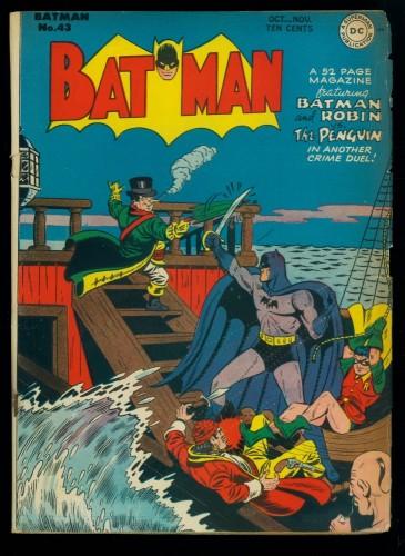 Batman #43 VG 4.0