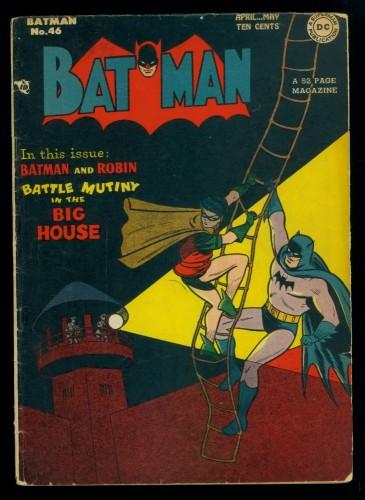 Batman #46 VG 4.0