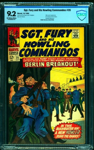 Sgt. Fury and His Howling Commandos #35 CBCS NM- 9.2 Off White to White