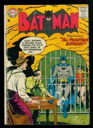 Batman #110 FA/GD 1.5