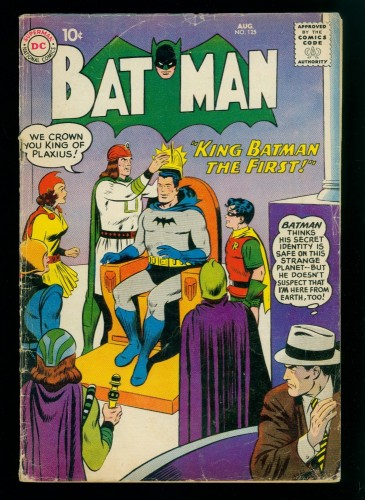 Batman #125 GD/VG 3.0