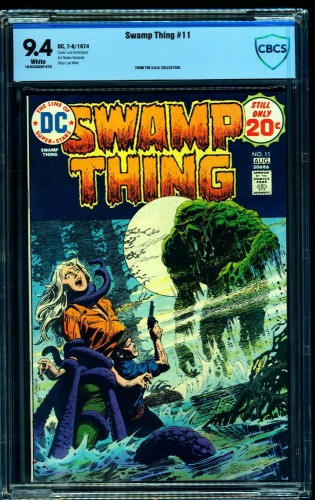 Swamp Thing #11 CBCS NM 9.4 White Pages