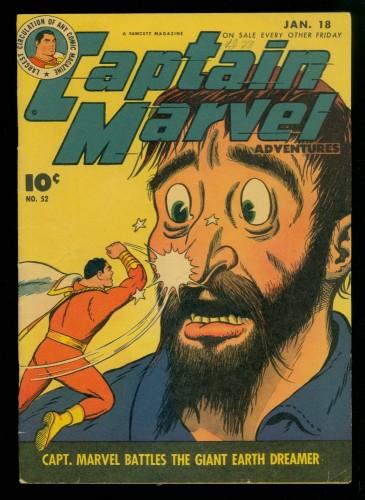 Captain Marvel Adventures #52 FN 6.0