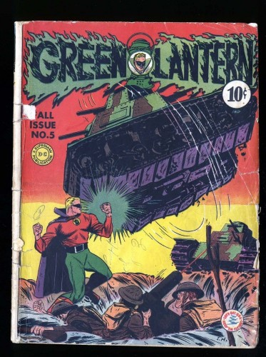 Green Lantern (1941) #5 GD- 1.8