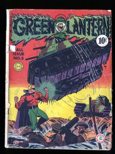 Green Lantern #5 GD- 1.8 DC Comics