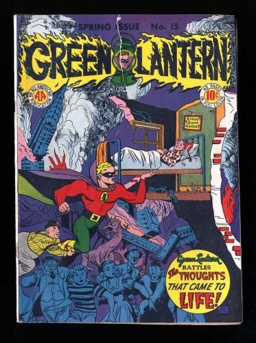 Green Lantern #15 VG+ 4.5 DC Comics