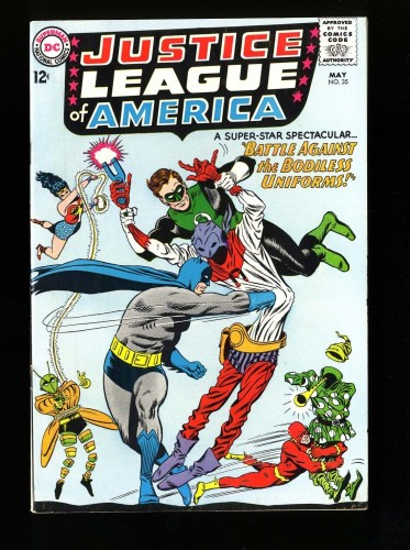 Justice League Of America #35 VF 8.0 DC Comics