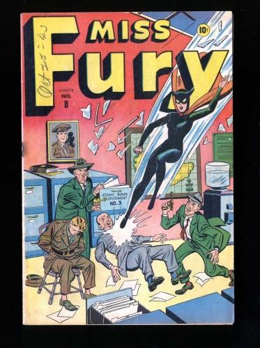 Miss Fury #8 FN 6.0