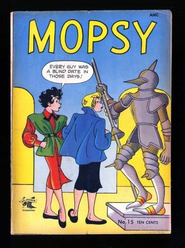 Mopsy #15 VG+ 4.5