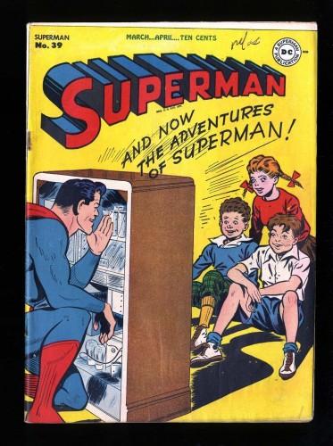 Superman #39 FN- 5.5