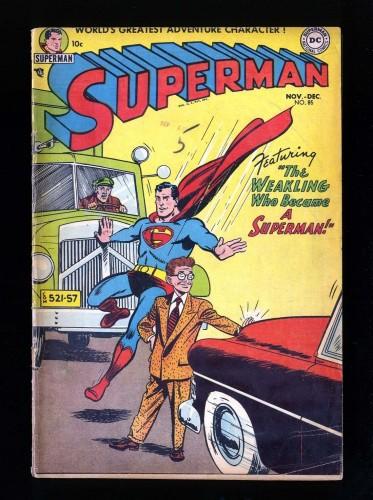 Superman #85 VG- 3.5 DC Comics