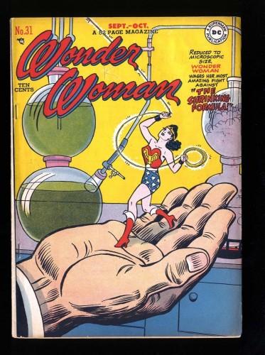 Wonder Woman #31 FN 6.0