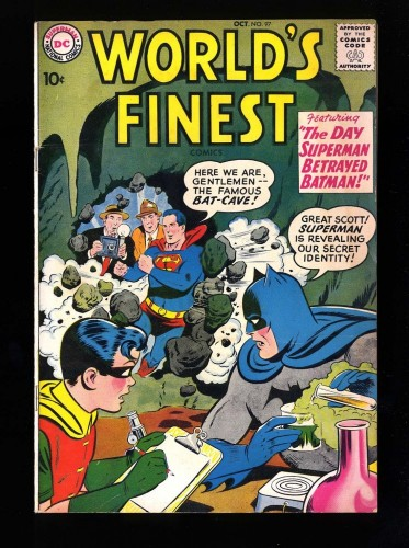 World's Finest Comics #97 FN+ 6.5