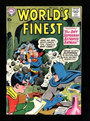 World's Finest Comics #97 FN+ 6.5