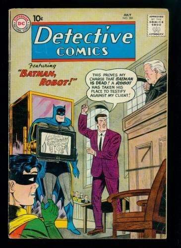 Detective Comics #281 VG+ 4.5