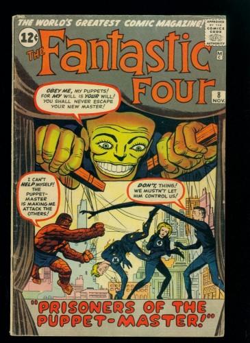 Fantastic Four #8 VG 4.0