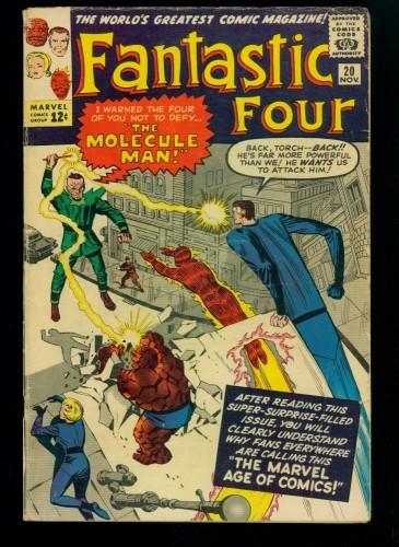 Fantastic Four #20 VG 4.0 Marvel Comics