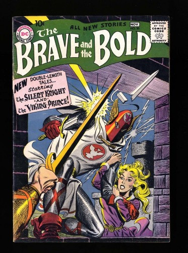 Brave And The Bold #20 FN+ 6.5 (Restored)