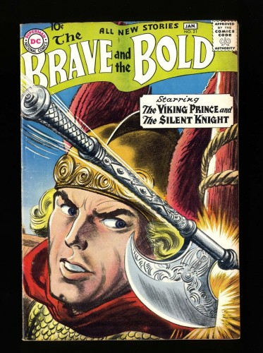 Brave And The Bold #21 FN+ 6.5