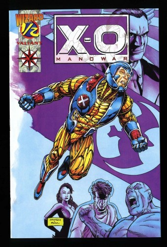Wizard Presents: XO Manowar nn NM+ 9.6 1/2