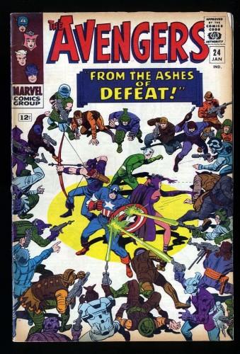 Avengers #24 VG 4.0