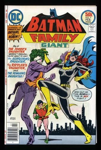 Batman Family #9 VF/NM 9.0