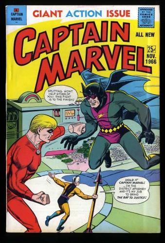 Captain Marvel #4 FN/VF 7.0